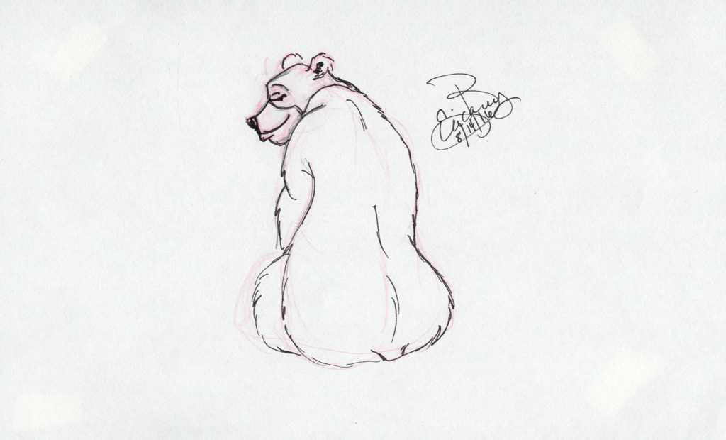 Various Bear Characters: Ink